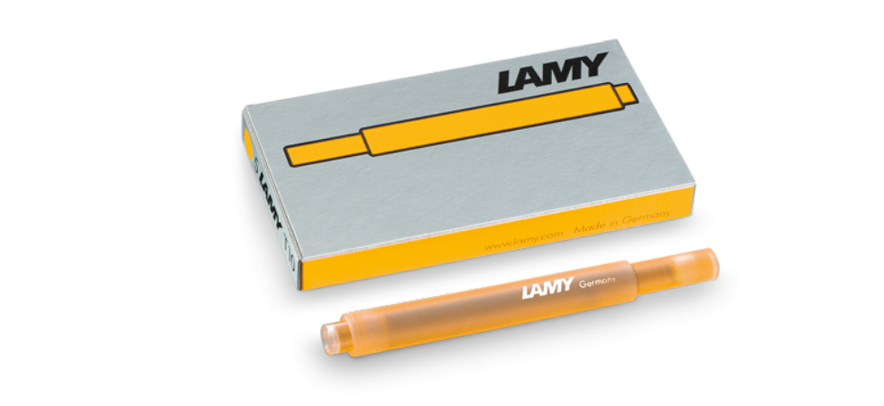LAMY T10 mango 'candy' Dolma Kalem Kartuşu - özel üretim rengi