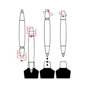 How to Fill a Piston Fountain Pen